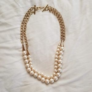 Accessories - Gold and Pearl Belt